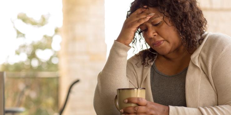 woman experiencing hormone imbalance symptoms